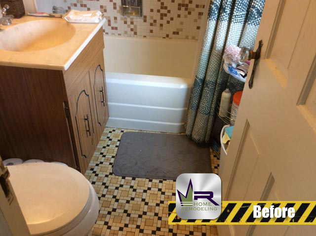 Norwood Park Bathroom Remodel - 5249 N Oriole Ave, Chicago, IL 60656 by Regency Home Remodeling