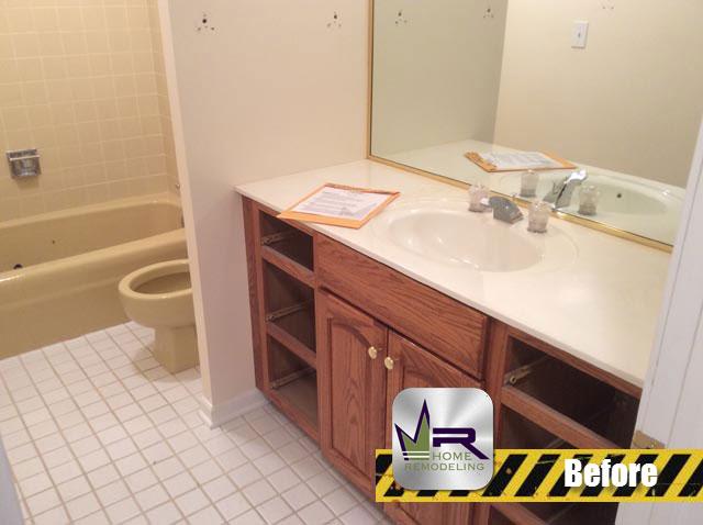 Bathroom Remodel - 1508 King George Ct, Palatine, IL 60067 by Regency Home Remodeling