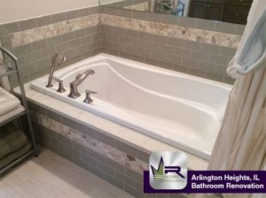 Bathroom Renovation In Arlington Heights Regency Home Remodeling - Materials for bathroom renovation