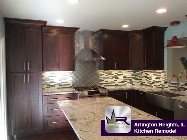 Kitchen Remodel In Arlington Heights Regency Home Remodeling - Daltile arlington