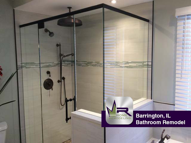 Bathroom Remodel In Barrington IL Regency Home Remodeling Classy Bathroom Partition Panels Remodelling
