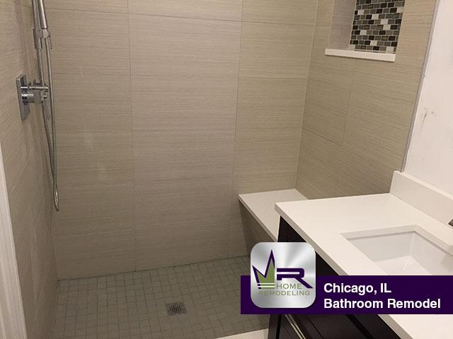 Bathroom Remodeling Chicago Model bathroom remodel in chicago - regency home remodeling