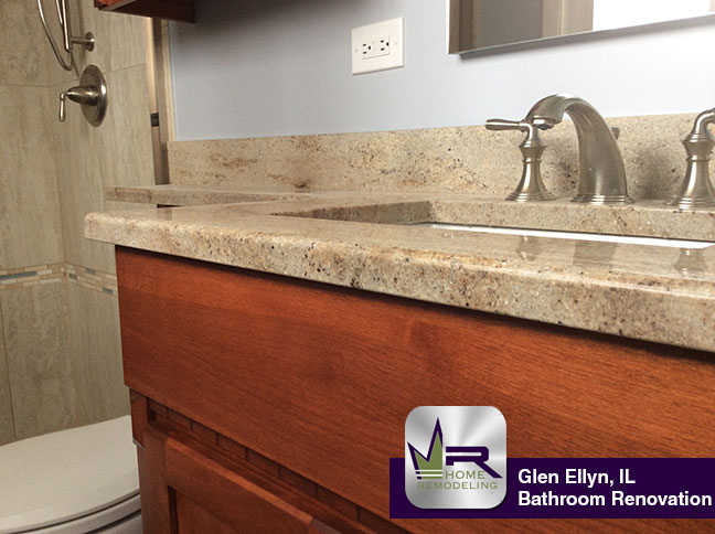 Bathroom Remodel - 260 S Milton Ave, Glen Ellyn, IL 60137, IL 60004 by Regency Home Remodeling