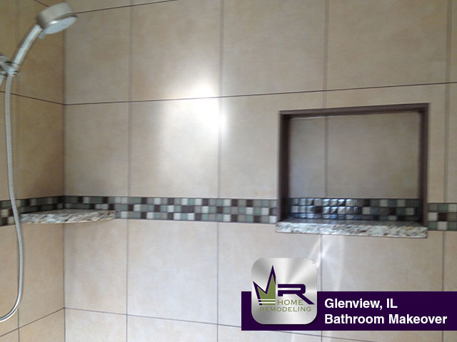 Bathroom Remodel - 1020 Holly Ct, Glenview, IL 60025 by Regency Home Remodeling