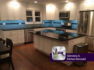 Kitchen Remodel - 2420 Rebecca Ln, Glenview, IL 60026 by Regency Home Remodeling