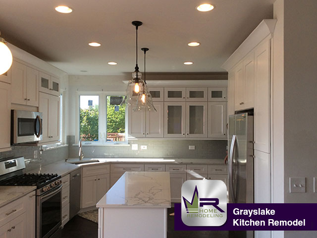 Kitchen Remodel - 34425 Tangueray Dr, Grayslake, IL 60030 by Regency Home Remodeling