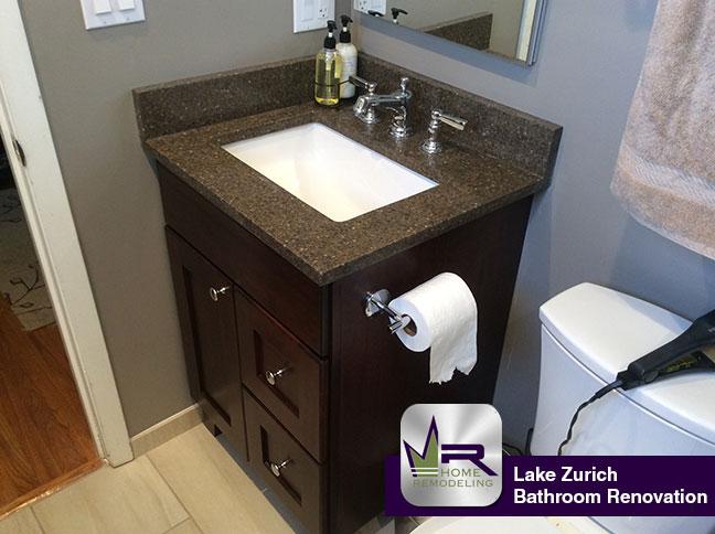Bathroom Vanities Lake Zurich Il bathroom renovation in lake zurich, il - regency home remodeling