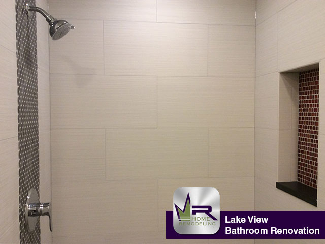 Lake View Bathroom Remodel - 1241 W Fletcher St, Chicago, IL 60614 by Regency Home Remodeling