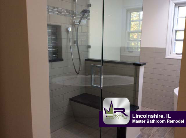 Master Bathroom Remodel - 20 Middlebury Ln, Lincolnshire, IL 60069 by Regency Home Remodeling
