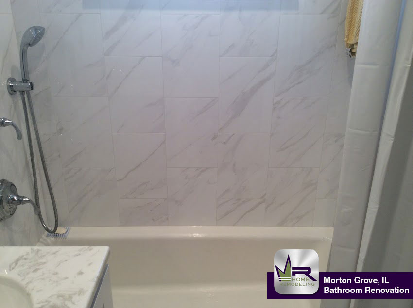 Bathroom Renovation In Morton Grove IL Regency Home Remodeling - Daltile elk grove village il