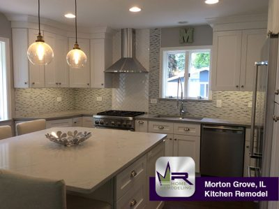 Kitchen Remodel - 8923 N McVicker Ave, Morton Grove, IL 60053 by Regency Home Remodeling