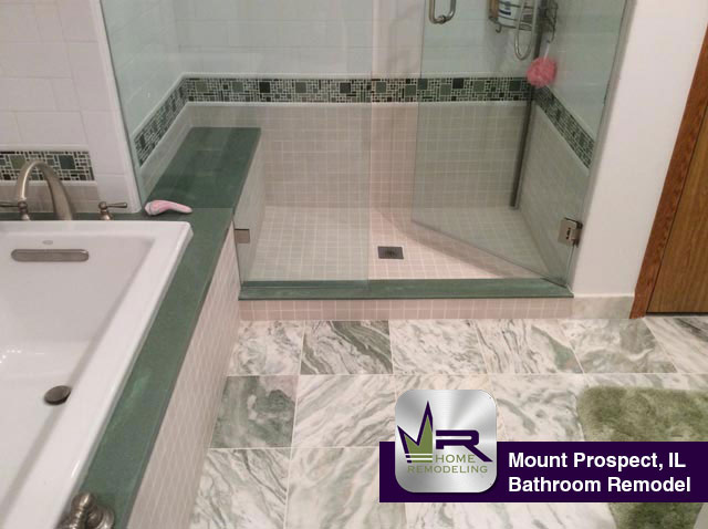 Bathroom Remodel - 900 South Waverly Pl, Mount Prospect, IL 60056 by Regency Home Remodeling