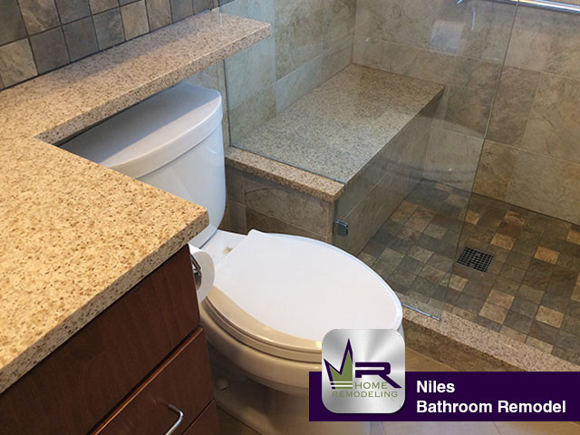 Bathroom Remodel - 6929 W. Madison Ave, Niles, IL 60714 by Regency Home Remodeling