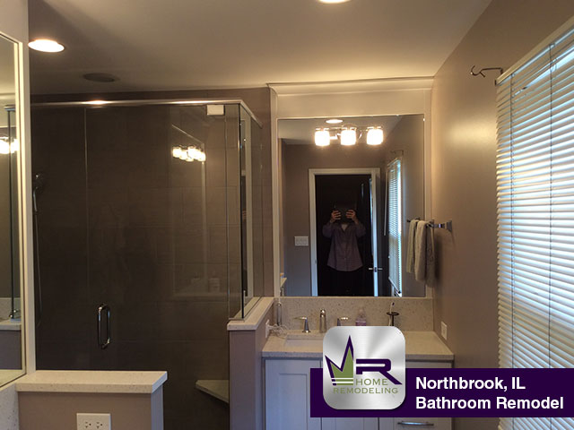 Bathroom Remodel - 2809 Crabtree Ln, Northbrook, IL 60062 by Regency Home Remodeling