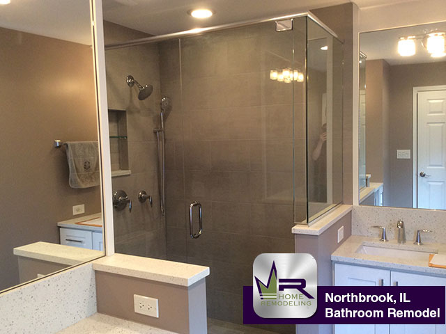 Bathroom Remodel In Northbrook IL Regency Home Remodeling - Bathroom remodeling northbrook