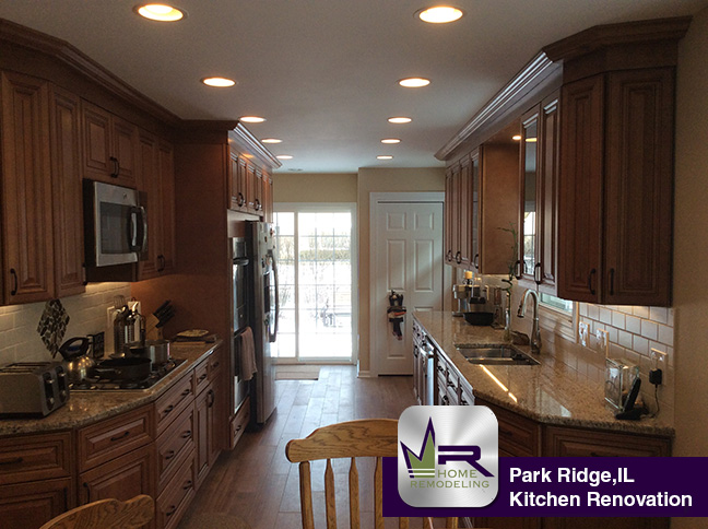 Kitchen Remodel - 1581 Birch St, Park Ridge ,IL 60053 by Regency Home Remodeling