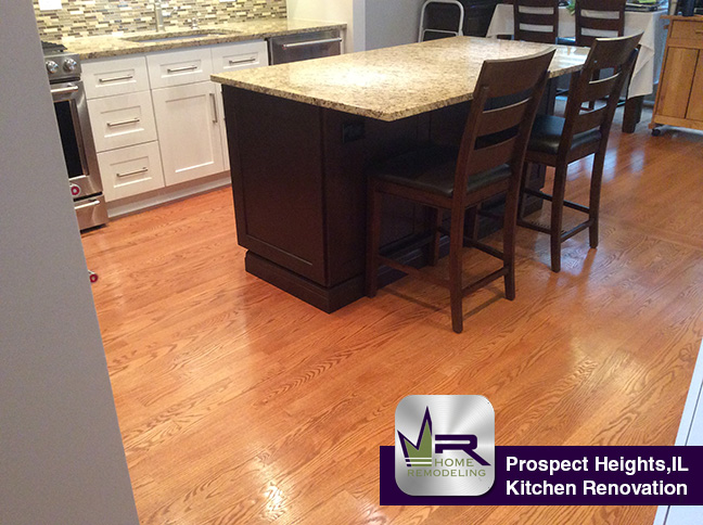 Kitchen Remodel - 319 Country Club Dr, Prospect Heights, IL 60070 by Regency Home Remodeling