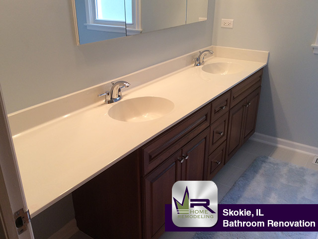 Bathroom Remodel - 4609 Elm Terrace, Skokie, IL 60076 by Regency Home Remodeling