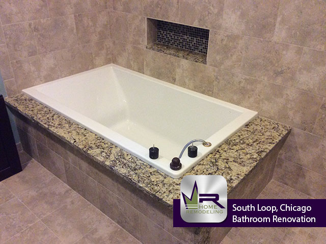 Bathroom Remodel in South Loop, Chicago - Regency Home Remodeling
