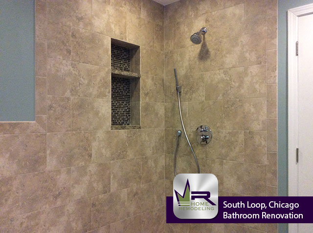 Hallway Bathroom Remodel - 1501 S. Indiana Ave, Chicago, IL 60605 by Regency Home Remodeling