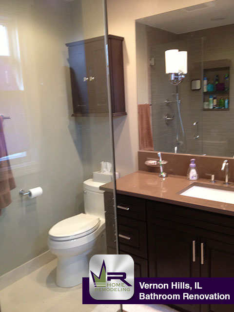 Bathroom Remodel - 128 Southfield Dr, Vernon Hills, IL 60061 by Regency Home Remodeling