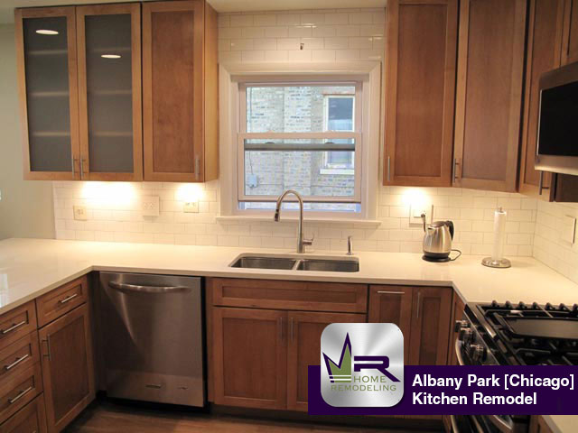 Albany Park Kitchen Remodel - 5043 North Avers Ave, Chicago, IL 60625 by Regency Home Remodeling
