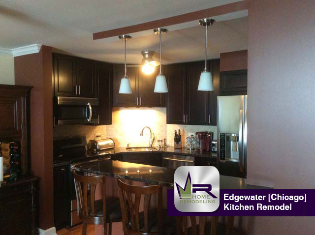 Edgewater Kitchen Remodel - 6033 North Sheridan Rd, Chicago, IL 60660 by Regency Home Remodeling