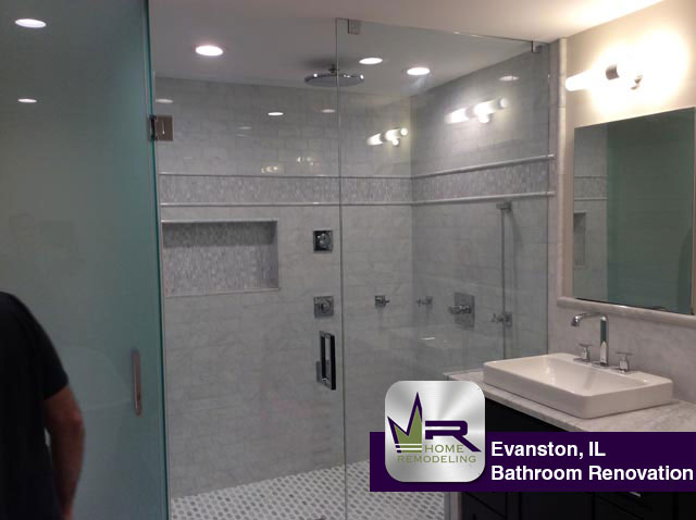 Bathroom Remodel - 9 Martha Ln, Evanston, IL 60201 by Regency Home Remodeling