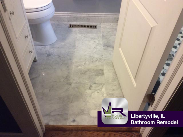 Bathroom Remodel - 709 Valley Park Dr, Libertyville, IL 60048 by Regency Home Remodeling