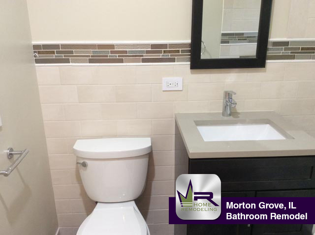 Bathroom Remodel - 9036 Luna Ave, Morton Grove, IL 60053 by Regency Home Remodeling
