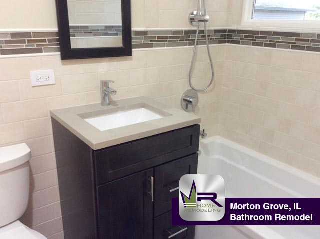 Morton Grove Bathroom Remodel Regency Home Remodeling - Bathroom remodeling crystal lake il