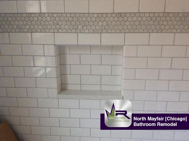 North Mayfair Bathroom Remodel - 5046 North Lowell Ave, Chicago, IL 60630 by Regency Home Remodeling