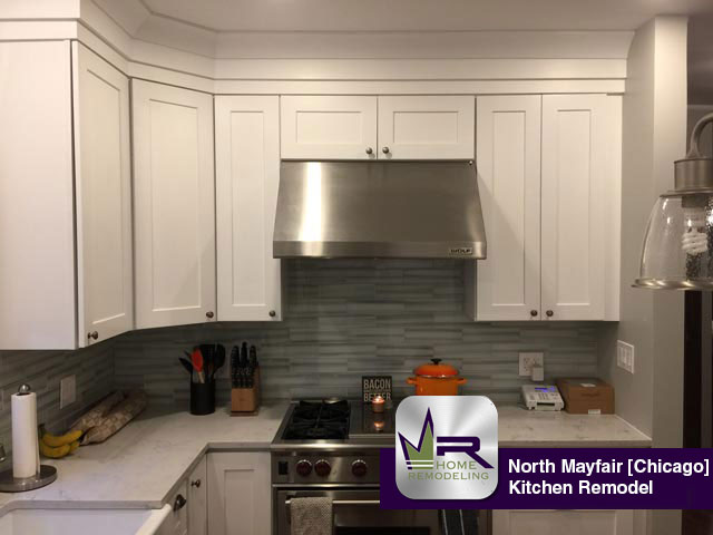 North Mayfair Kitchen Remodel - 5046 N Lowell Ave, Chicago, IL 60630 by Regency Home Remodeling