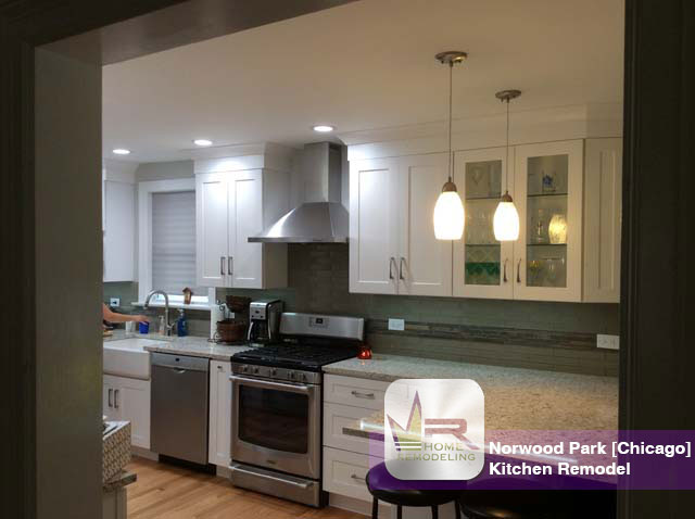 Norwood Park Kitchen Remodel - 5249 N Oriole Ave, Chicago, IL 60656 by Regency Home Remodeling