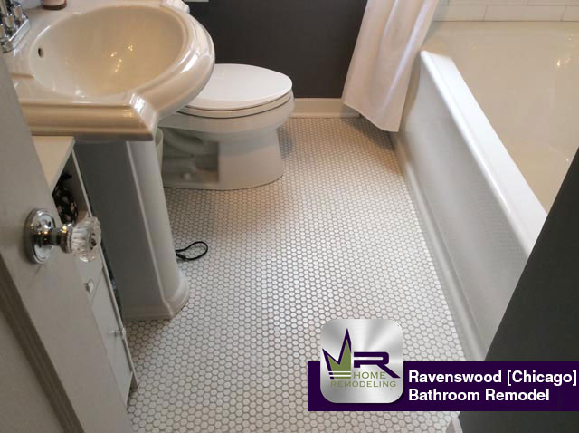 Ravenswood Bathroom Remodel - 5444 North Campbell Ave, Chicago, IL 60625 by Regency Home Remodeling