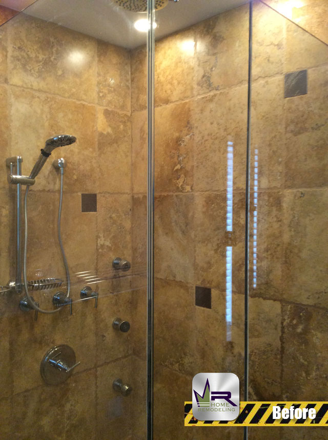 West Town Bathroom Remodel - 1519 W Ohio St, Chicago, IL 60642 by Regency Home Remodeling