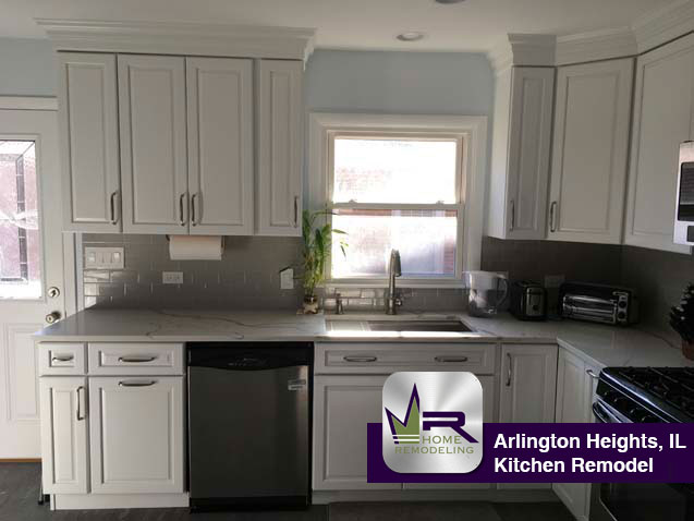 Kitchen Remodel - 1522 N Hickory Ave, Arlington Heights, IL 60004 by Regency Home Remodeling