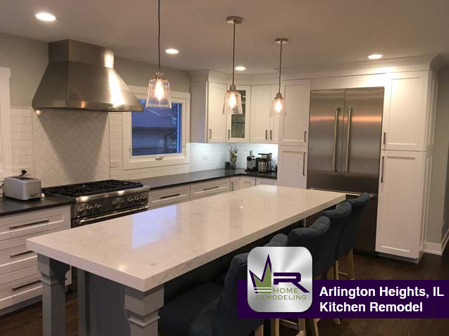 Kitchen Remodel - 715 E Burr Oak Dr, Arlington Heights, IL 60004 by Regency Home Remodeling