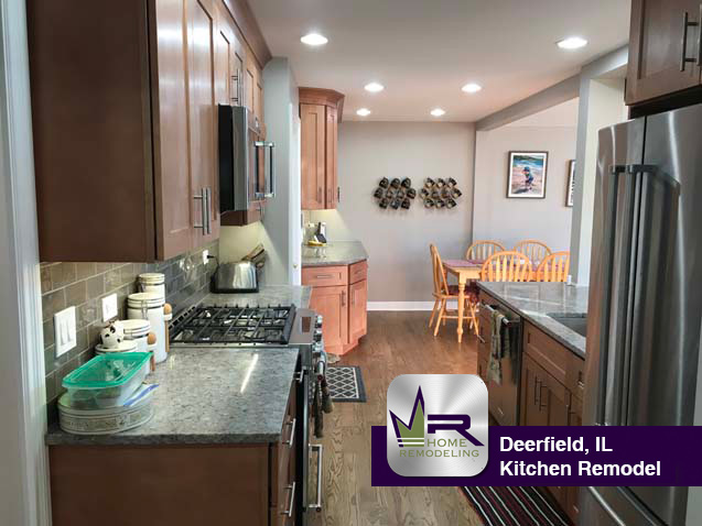 Kitchen Remodel - 1425 Hackberry Rd, Deerfield, IL 60015 by Regency Home Remodeling
