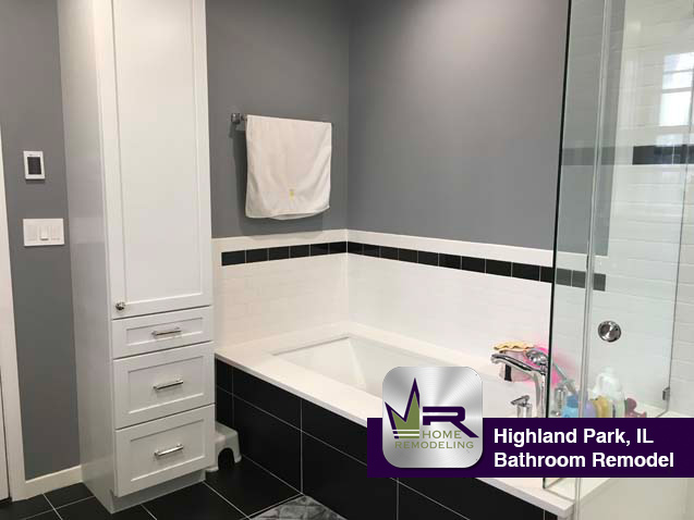 Highland Park, IL bathroom remodel by Regency