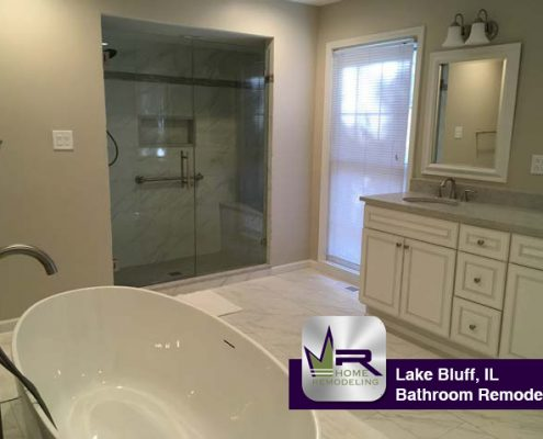 Lake Bluff Bathroom Remodel by Regency