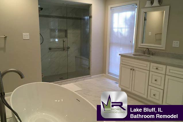 Bathroom Remodel - 90 Brierfield Ct, Lake Bluff, IL 60044 by Regency Home Remodeling