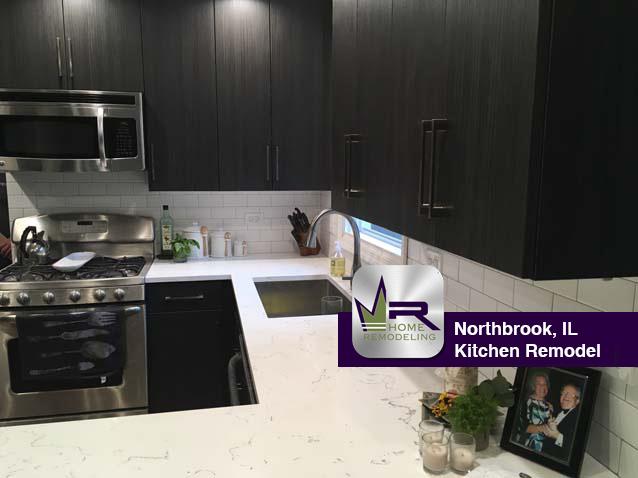 Kitchen Remodel - 2604 Oak Ave, Northbrook, IL 60062 by Regency Home Remodeling