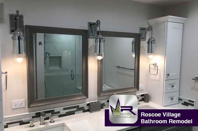 Roscoe Village Bathroom Remodel by Regency