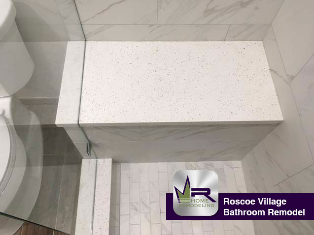 Roscoe Village Bathroom Remodel - 1636 W Melrose St, Chicago, IL 60657 by Regency Home Remodeling