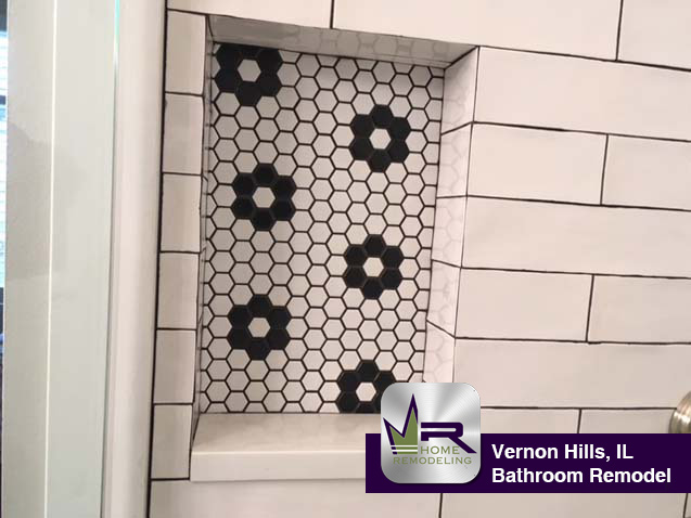 Bathroom Remodel - 1963 Trevino Terrace, Vernon Hills, IL 60061 by Regency Home Remodeling