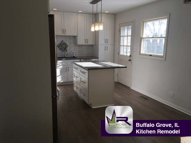 Kitchen Remodel - 19 Columbus Pkwy, Buffalo Grove, IL 60089 by Regency Home Remodeling