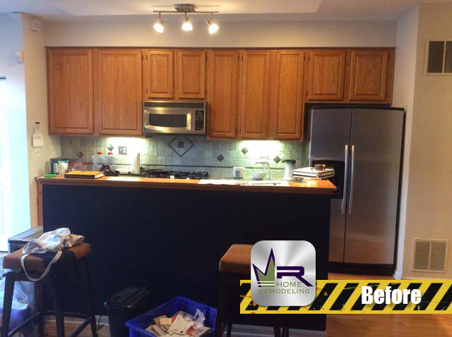 North Park Kitchen Remodel - 5903 N Sauganash Ln, Chicago, IL 60646 by Regency Home Remodeling