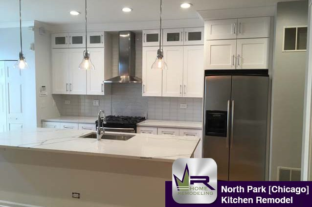 North Park Kitchen Remodel - 5903 N Sauganash Ln, Chicago, IL 60646 by Regency Home Remodeling