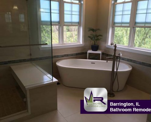Bathroom remodel in Barrington, IL by Regency